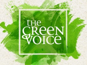 The Green Voice Logo