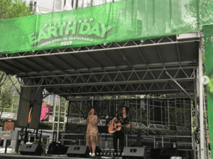 Go Green in Market Square with Live Entertainment