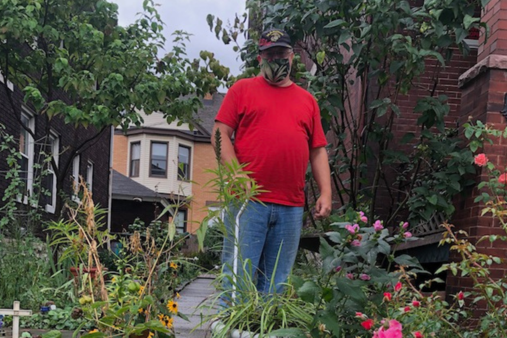 Gardening Helps Former Marine Cope with PTSD and Other Health Issues