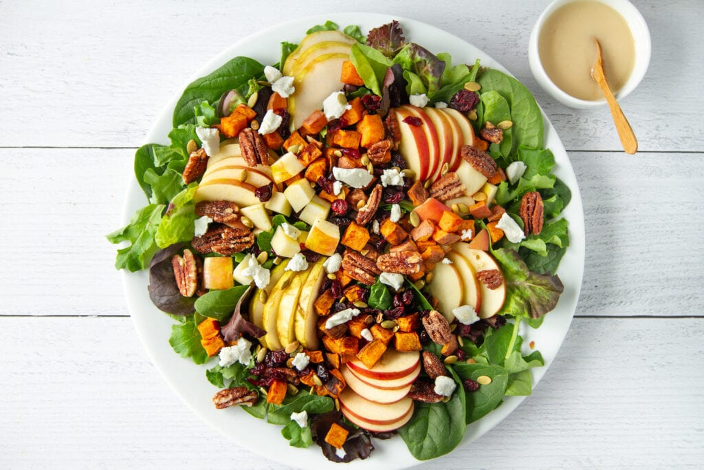 Fall Harvest Chopped Salad