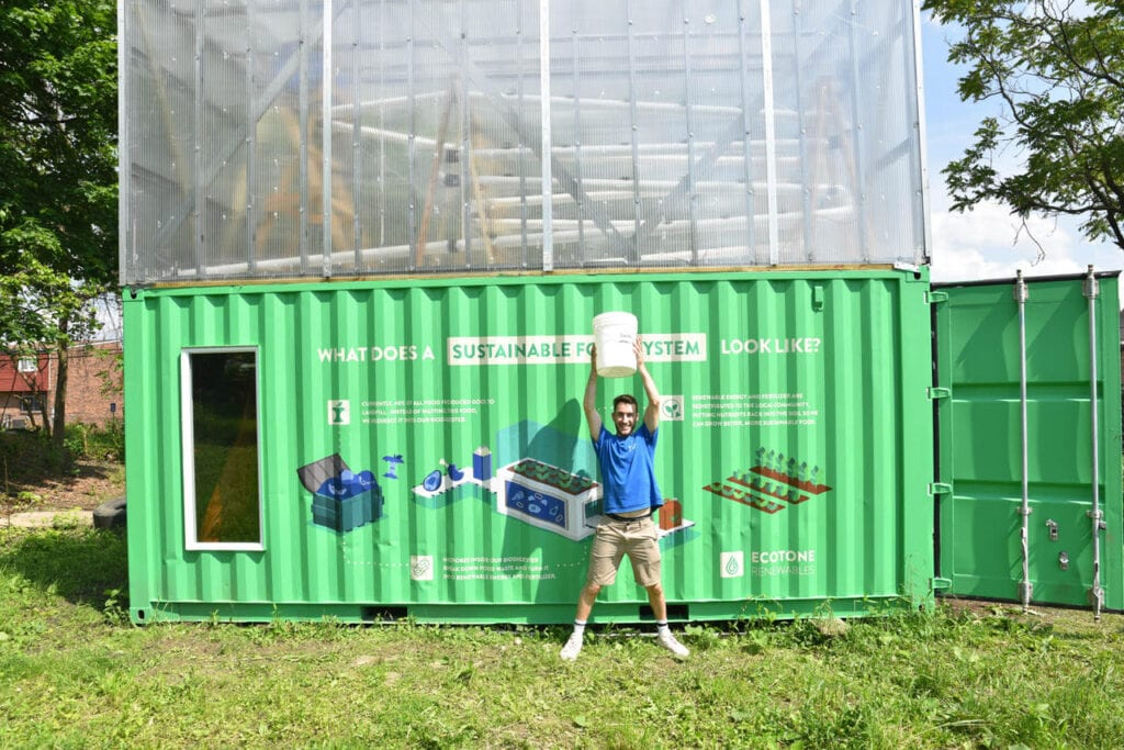 Ecotone Renewables Seahorse System Tackles Food Waste in Pittsburgh