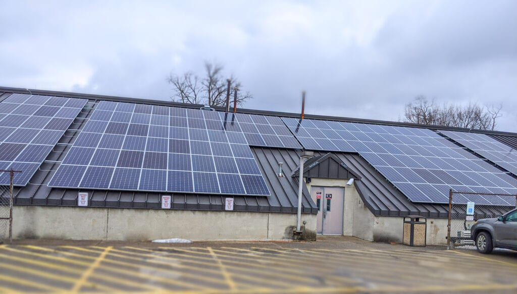 CCAC Banks on Solar Power with Large-Scale, 540-Kilowatt Installation