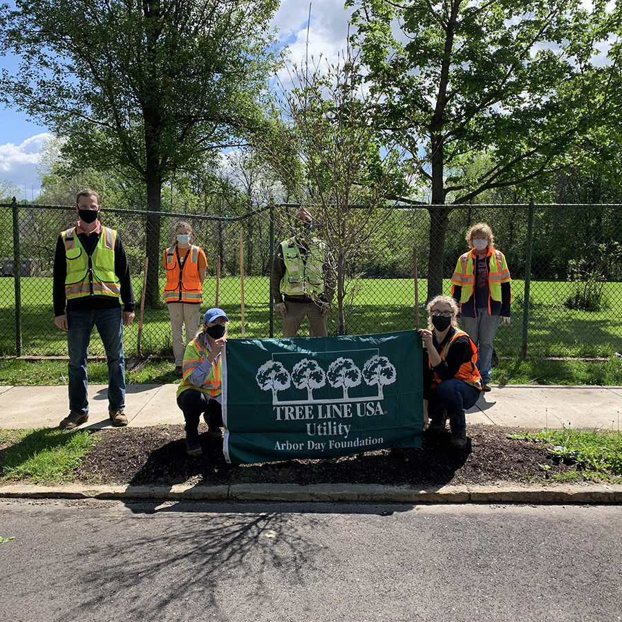 Duquesne Light Company Celebrates Earth Day and Arbor Day Through Volunteerism