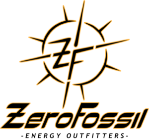 ZeroFossil Energy Outfitters Logo for Pittsburgh Earth Day